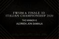 Aldrien Jon Samala wins the FWsim & Finale3D Italian Championship 2020